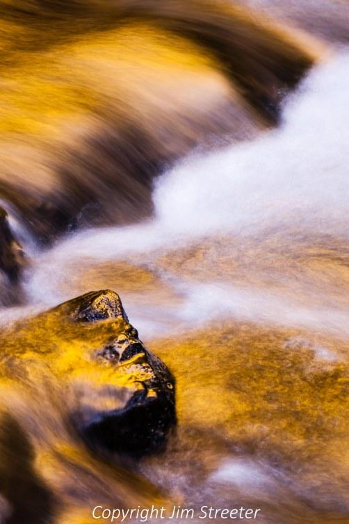 Small waterfall on Munson Creek in western Oregon.