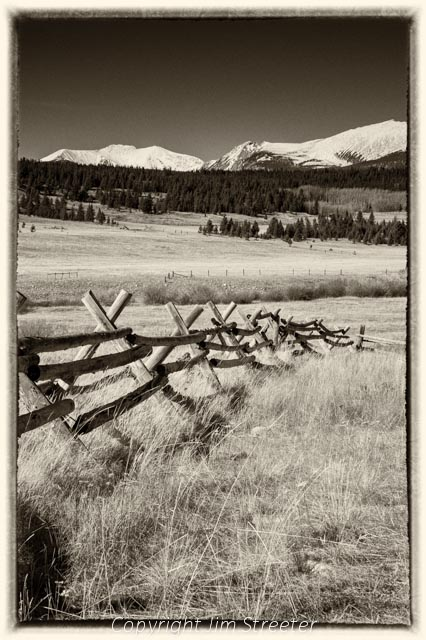 The Pintlar range rises in the distance from the Mount Haggin Wildlife Management Area south of Anaconda, Montana.