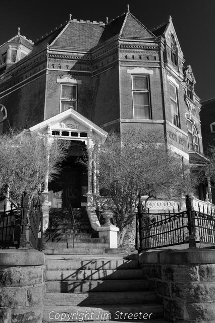 The Copper King Mansion in Butte, Montana was originally the home of William Andrews Clark, one of Montana's three famous Copper Kings.