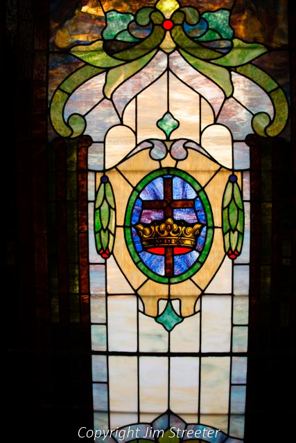 A stained glass window has become part of the Brunswick Heritage Museum in Brunswick, Maryland. The museum tells the store of the Baltimore and Ohio railroad and its effect on the town and also houses the Visitors Center for the National Park Service's Chesapeake & Ohio Canal National Historic Park